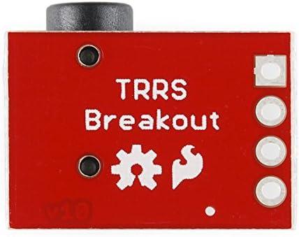 5x TRRS 3,5 mm Jack Breakout Board