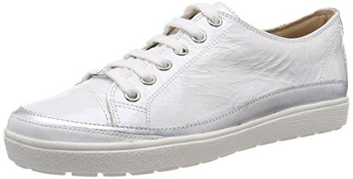 Bianco 124 Napl Donna Derby Scarpe Stringate White Caprice 23654 Mud 4qB71ncw