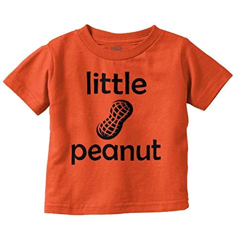 Little Peanut Adorable Precious Newborn Infant Toddler T Shirt Orange