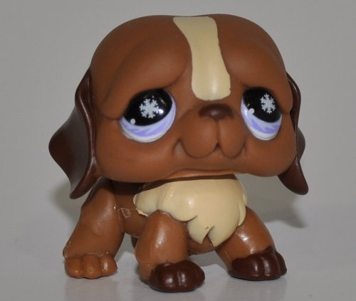 Loose OOP Out of Package /& Print Pink//Purple Eyes, Snowflakes in Eyes St LPS Collectible Replacement Single Figure Bernard #688 - Littlest Pet Shop Collector Toy Retired