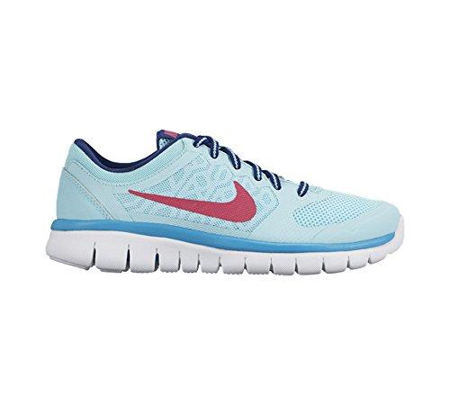 Nike Flex 2015 Run (GS) Laufschuhe copa-vivid pink-insignia blue-white - 36,5