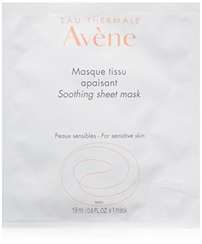 Eau Thermale Avene Soothing Sheet Mask, 1 Count (Best Thermal Spring Water Spray)