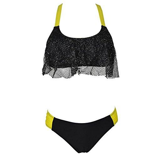 PZZ Halter swimwear Hollow Bikini