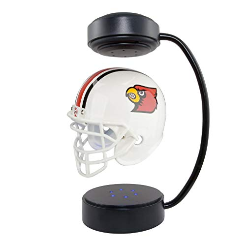 Louisville Cardinals  NCAA Hover Helmet - Collectible Levitating Football Helmet with Electromagnetic Stand