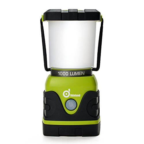 Ultra Bright 1000 Lumen Camping Lantern with Brightness Adjustment, Odoland Battery Powered LED Lantern of 4 Light Modes, Best for Camping, Hiking, Fishing & Emergency