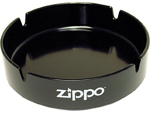 Medium Ashtray - Zippo Black Ashtray