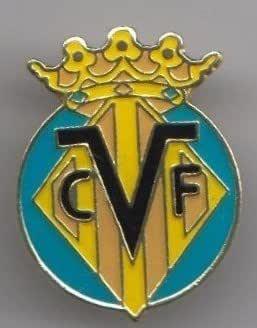 Villarreal CF España Fútbol Club insignia: Amazon.es: Ropa y accesorios