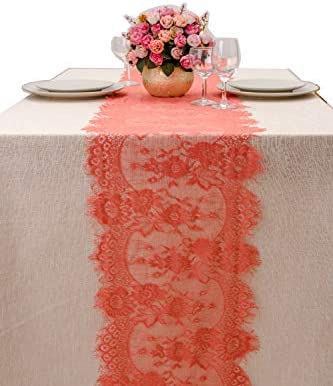 Crisky Runnerswith Embroidered Reception Decoration