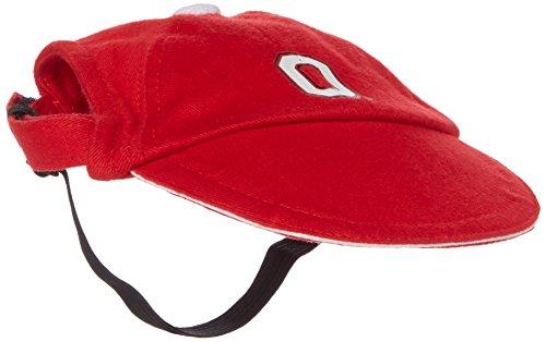 Sporty K9 Collegiate Ohio State Buckeyes Dog Cap, Medium  - New Design ()