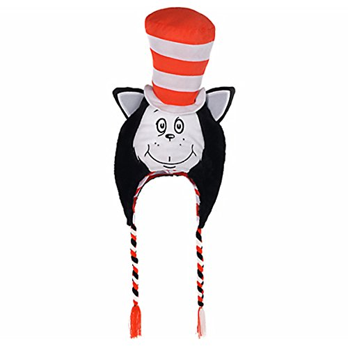 Costumes USA Dr. Seuss The Cat In The Hat Costume Character Hat -