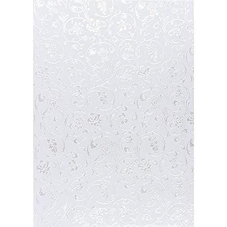 Nova Noblesse mit Top-Pr/ägung /& Perlmuttlack braun, Design 08 DIN A4 5 Bogen Premium-Transparentpapiere