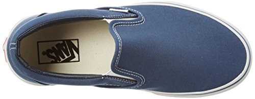 Navy Canvas Adults' Vans Unisex Slip Classic on Trainers qRnBZwS1