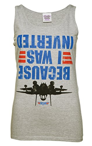 Womens Top Gun Because I Was Inverted Vest