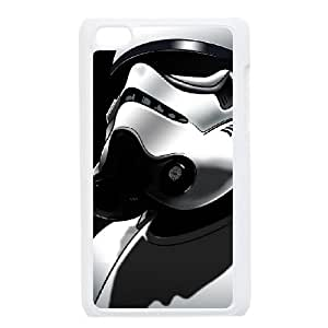 iPod Touch 4 Case White Star Wars Bizj