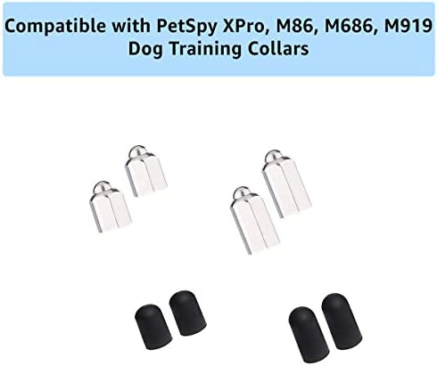 PetSpy M86 M686 M919 XPro Extra Contact Points – Replacement Part for Dog Training Collars M86, M686, M919, and XPro