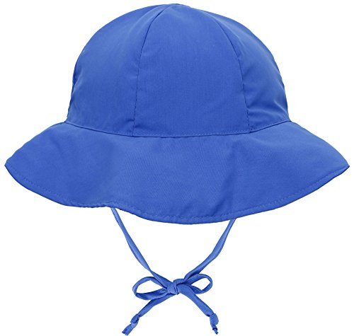SimpliKids UPF 50+ UV Ray Sun Protection Wide Brim Baby Sun Hat,Royal Blue,0-12 Months