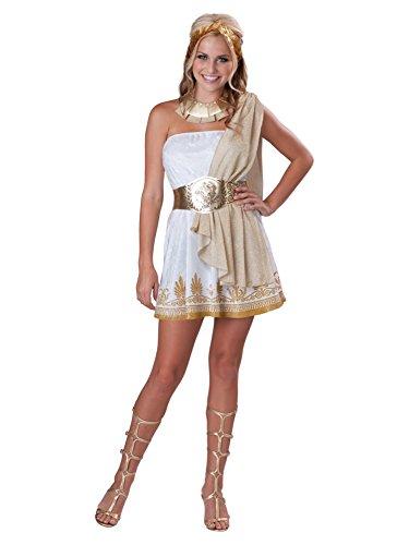 Costumes Teen Goddess Glitzy (Glitzy Goddess Teen/Junior Costume - Teen)