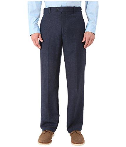 Flat Front Linen Trousers - 3