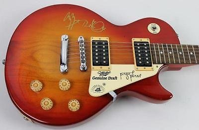 Led Zeppelin - Jimmy Page & Robert Plant Signed Epiphone Guitar #W0480