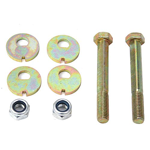 CNSY A Pair Alignment Cam Bolt Set Front Lower Control Arm Fit for Jeep Wrangler Grand Cherokee