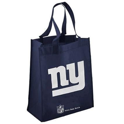 Football Fanatics NFL New York Giants Navy Blue Reusable Tote Bag