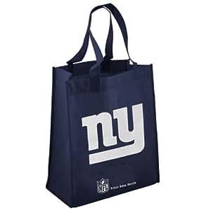 NFL New York Giants Navy Blue Reusable Tote Bag
