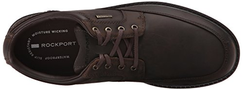 Rockport Mens Storm Surge Mudguard Oxford Rain Shoe Tan Impermeabile