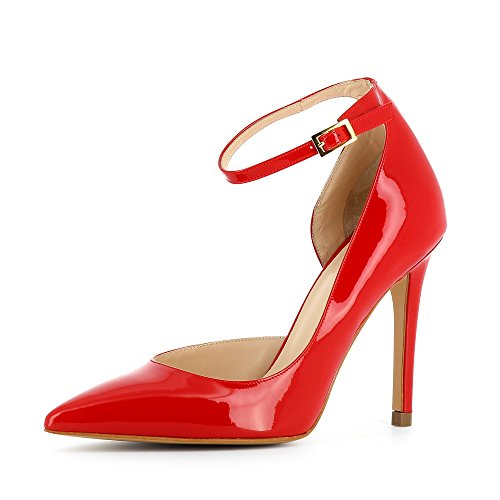 Alina Damen Shoes Rot Pumps Lack Evita qA4BWcRW