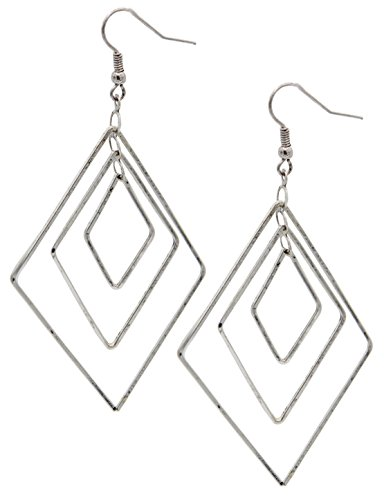 Interlocking Diamond Earring SPUNKYsoul Collection