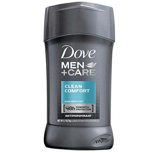Dove Deodorant 2.7 Ounce Mens Clean Comfort Anti-Perspirant (79ml)