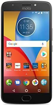 Moto E Plus (4th Generation) - 16 GB - Unlocked (AT&T/Sprint/T-Mobile/Verizon) - Iron Gray - Prime Exclusive - with Lockscreen Offers & Ads