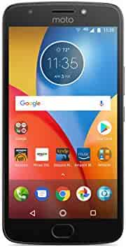 Moto E Plus (4th Generation) - 16 GB - Unlocked (AT&T/Sprint/T-Mobile/Verizon) - Iron Gray - Prime Exclusive - with Lockscreen Offers & Ads