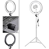 Flashpoint Photo/Video 19 AC Powered 600W 5500K Dimmable Fluorescent Ring Light With Bag (Light Only)