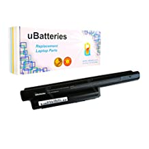 UBatteries Laptop Battery Sony VAIO VPCEH1EGX/B - 9 Cell, 6600mAh