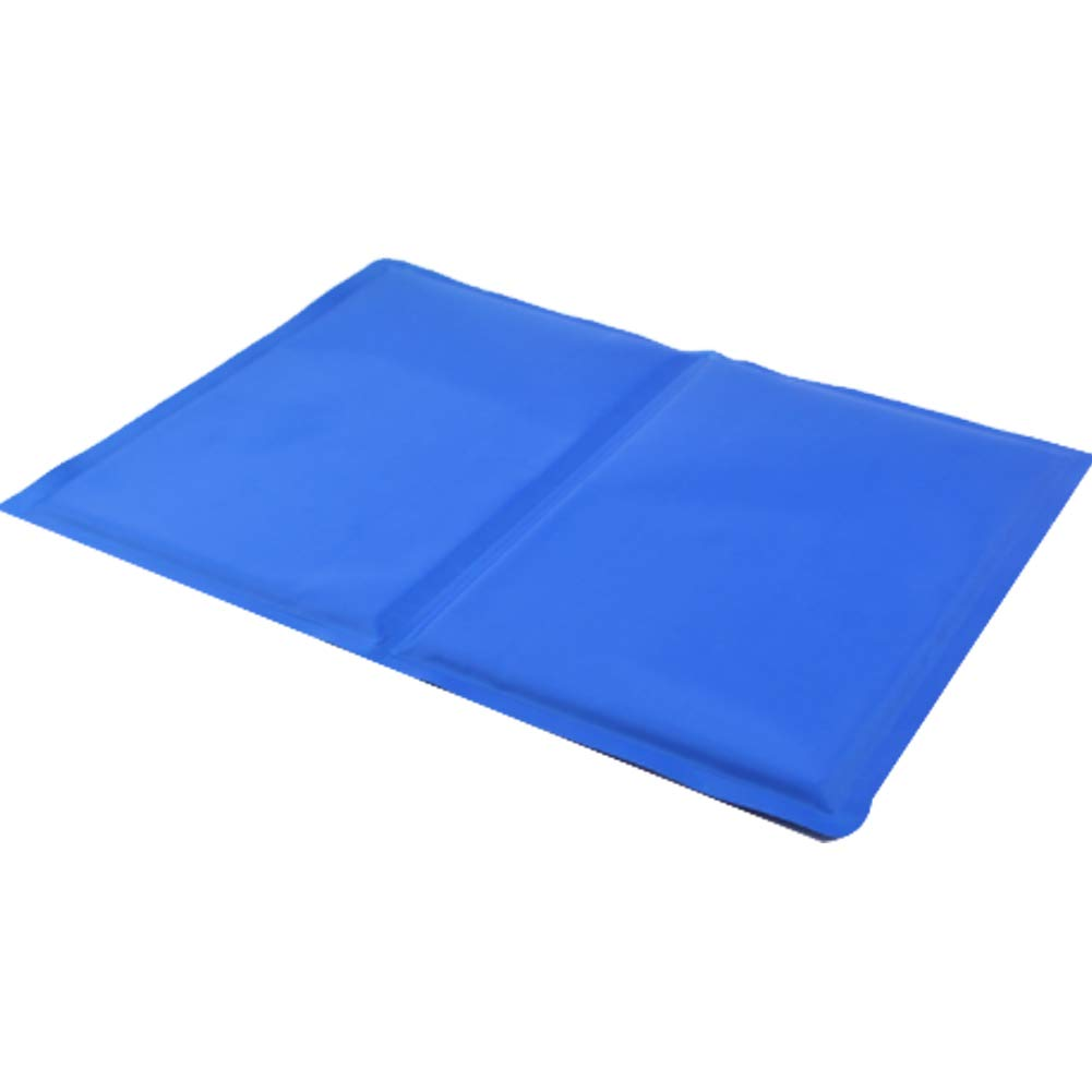 bluee M bluee M PDDJ Cooler Gel Pad Cushion with Keep Your Dog Cool And Easy to Clean for Pet Supplies