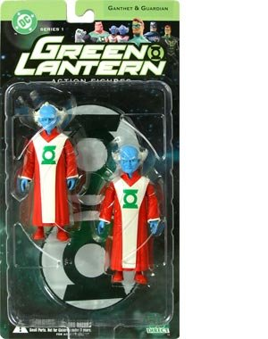 Green Lantern DC Direct  Series 1   Guardians Action Figure