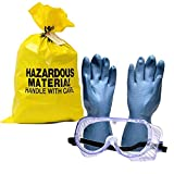 Portable Spill Kit 2 Pack, 35 Pieces. Perfect for