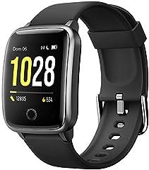 Willful Smartwatch Orologio Fitness Uomo Donna Fitness Tracker Contapassi Calorie Cardiofrequenzimetro da polso...
