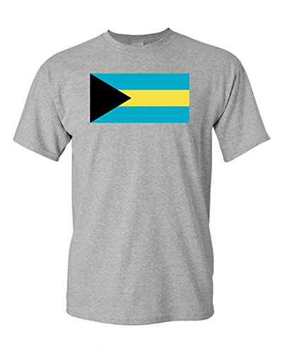 Bahamas Country Flag Adult DT T-Shirt Tee