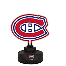 Memory Company NHL Montreal Canadiens Team Logo Neon Lamp, One Size, Multicolor