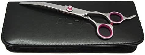 Alfie Pet by Petoga Couture - Rosa 7.5-Inch Pet Grooming Curve Scissors