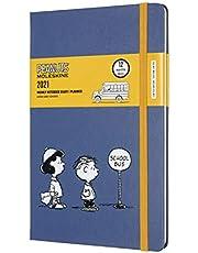 Moleskine 2021 Peanuts Weekly Planner, 12M, Large, School Bus, Hard Cover (5 x 8.25)