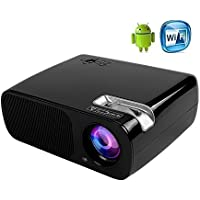 ICopter Android Video Projector 800x480 LED WIFI Beamer Home Theater Private Cinema