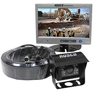 Discount Rearview Backup Camera System Complete with 7-inch Color Monitor Weather Proof Camera 65-ft Harness.