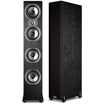 monitor speaker wiring diagram amazon.com: polk audio rti a9 floorstanding speaker ...
