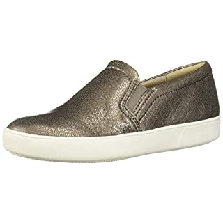 Naturalizer womens Marianne Sneaker, Pewter Crackle, 8 Wide US