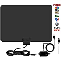HDTV Antenna,Sobetter Digital TV Antenna 65+ Mile Range with Detachable Amplifier and USB power supply ,13.2ft Coax Cable(2018 Newest version,supports1080p,full HD,4K )