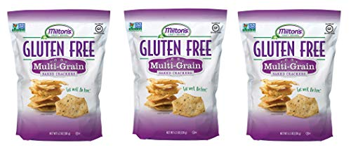 Milton's Gluten Free Crackers (Multi-Grain). Multi-Grain Gluten-Free Baked Crackers (Pack of 3, 4.5 ()