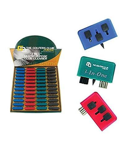 Limpiador de palos de golf * 3en 1* 4Colores disponibles ...