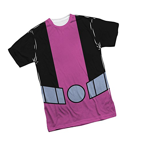 Beast Boy -- Teen Titans Go! All-Over Front Print Sports Fabric Youth T-Shirt, Youth Medium (10/12) -